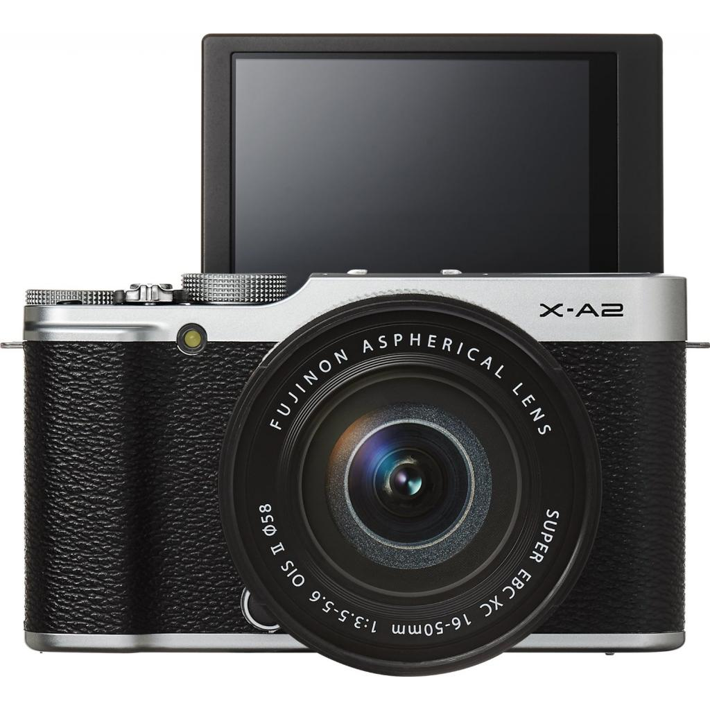 Цифровой фотоаппарат Fujifilm X-A2 + XC 16-50mm Kit Silver (16455207) изображение 2
