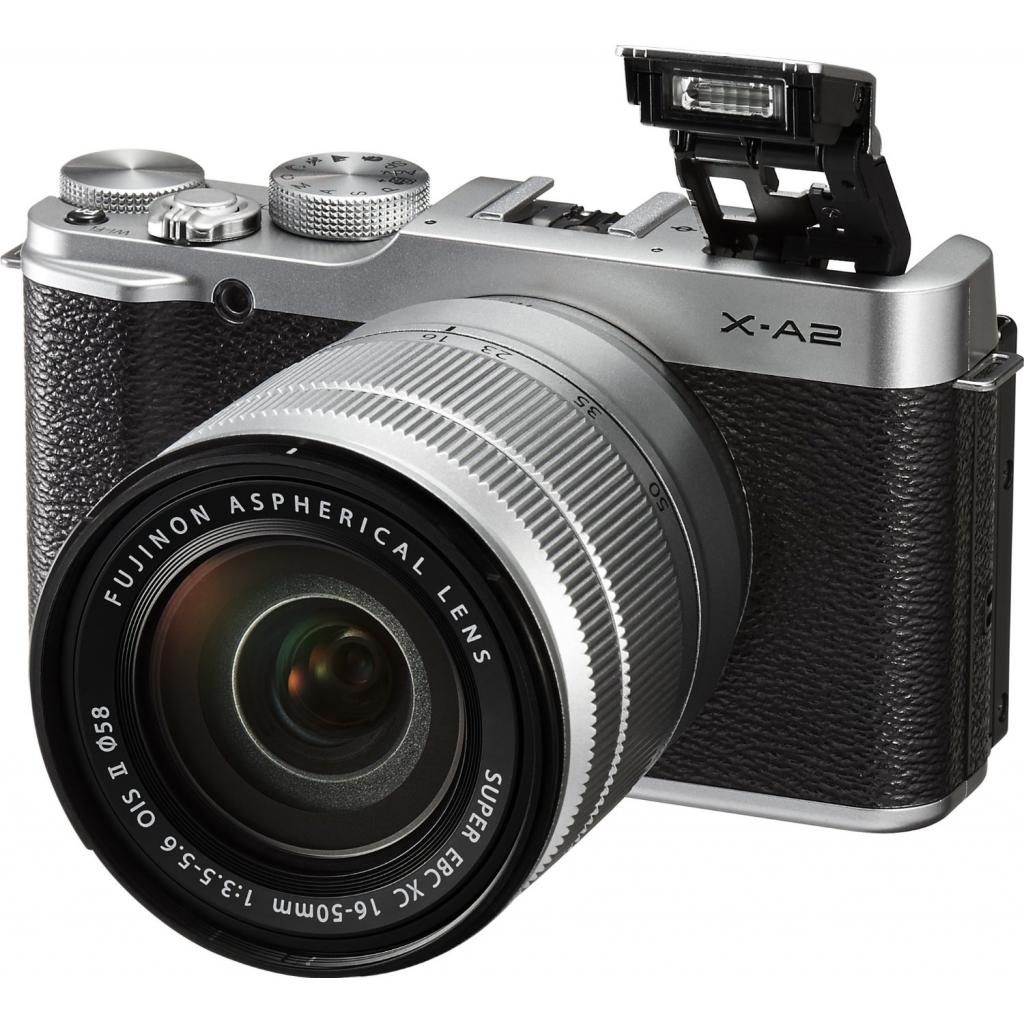 Цифровой фотоаппарат Fujifilm X-A2 + XC 16-50mm Kit Silver (16455207) изображение 5