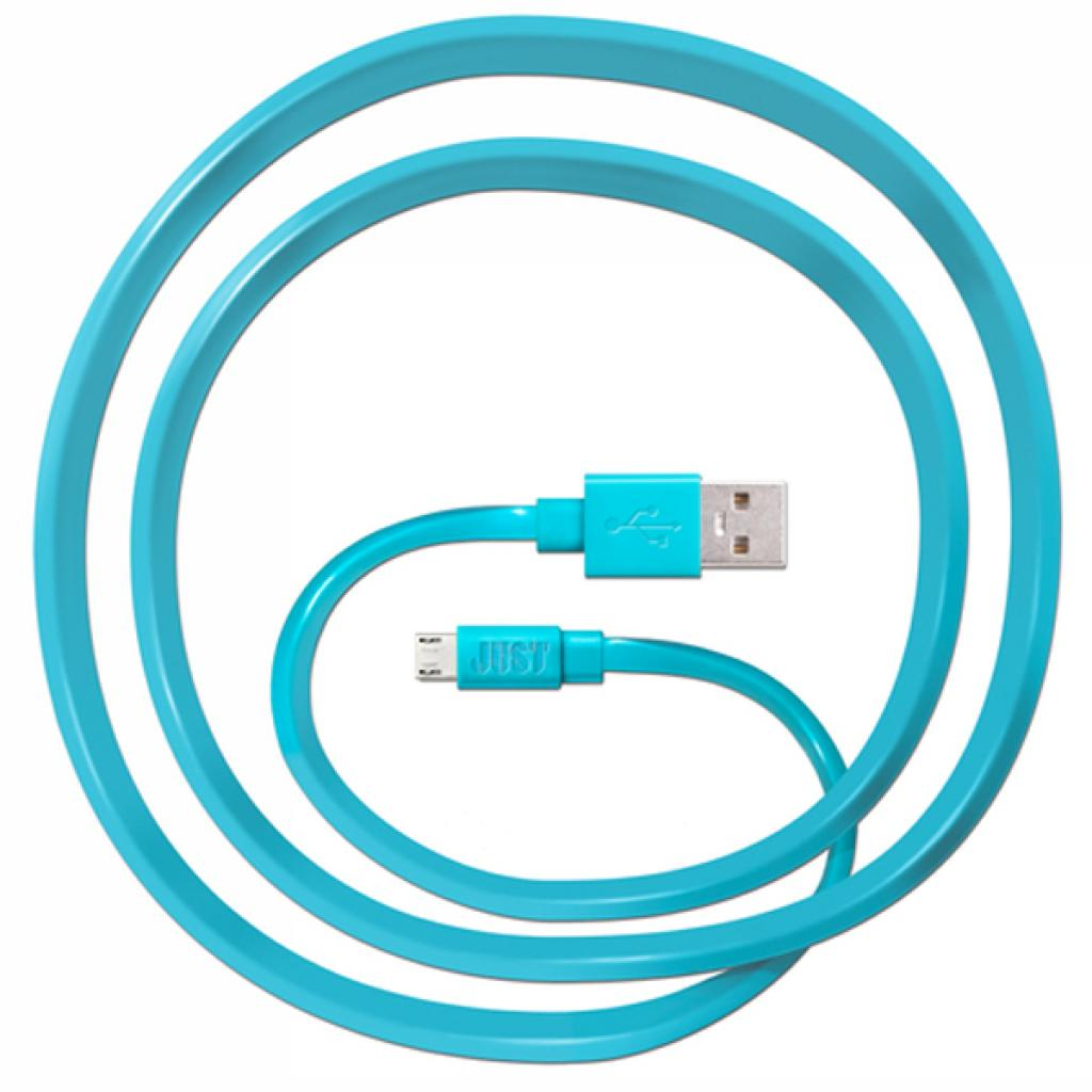 Дата кабель JUST Freedom Micro USB Cable Blue (MCR-FRDM-BL) изображение 2