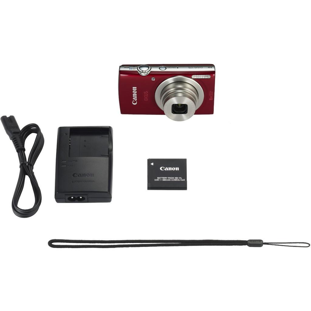 Цифровой фотоаппарат Canon IXUS 175 Red (1097C010) изображение 6
