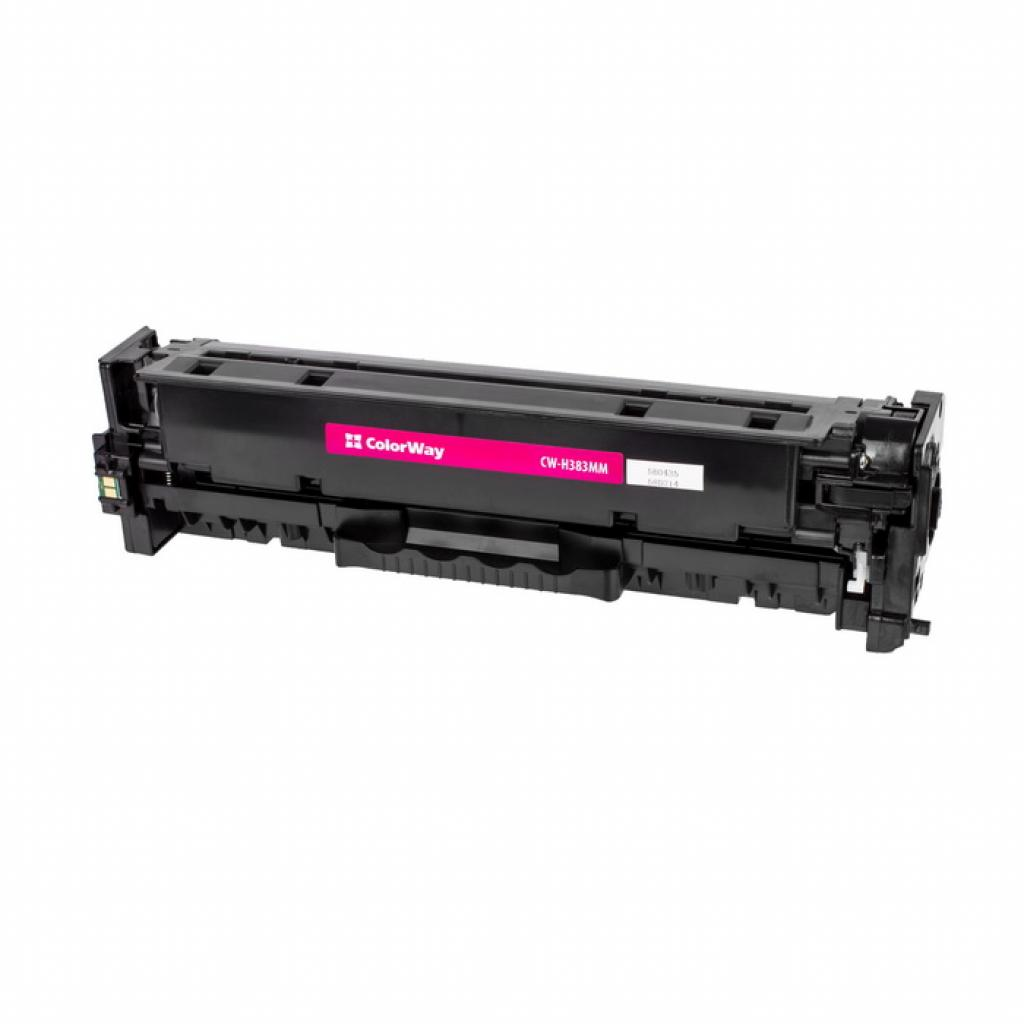 Картридж ColorWay для HP CLJ Pro M476 Magenta /CF383A (CW-H383MM)