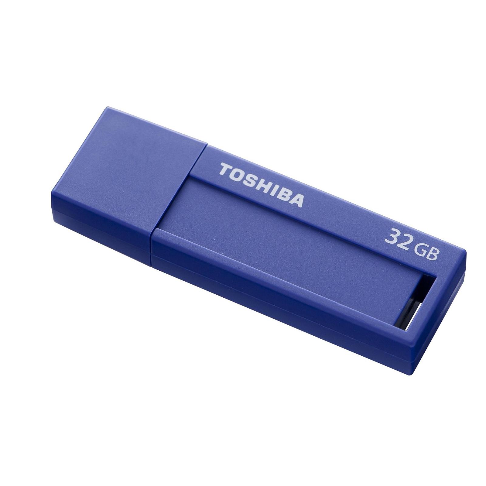 USB флеш накопитель TOSHIBA 32GB Daichi Blue USB 3.0 (THN-U302B0320M4) изображение 2