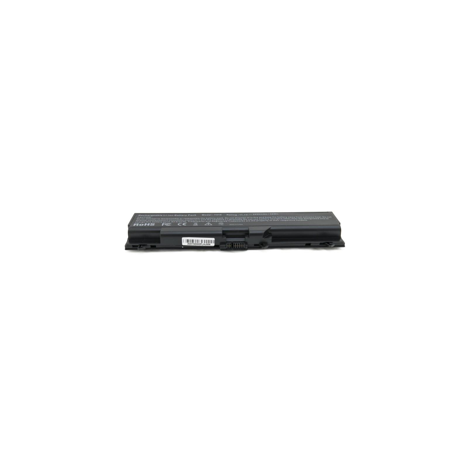 Аккумулятор для ноутбука Lenovo ThinkPad T410, 5200 mAh EXTRADIGITAL (BNL3950) изображение 4