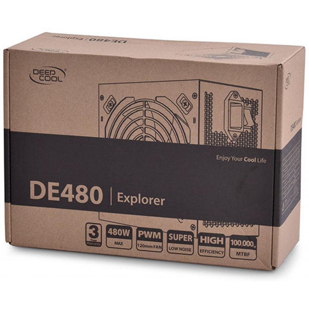 Блок питания Deepcool 480W (DE480) изображение 6