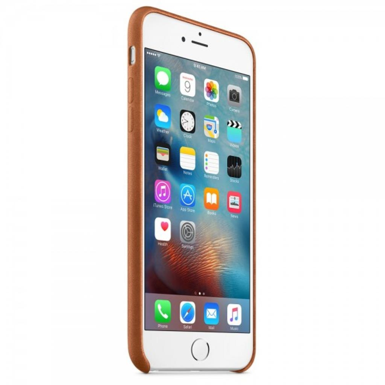 Чехол для моб. телефона Apple для iPhone 6 Plus/6s Plus Saddle Brown (MKXC2ZM/A) изображение 3