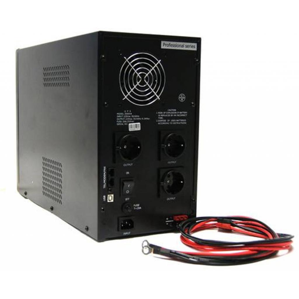 Источник бесперебойного питания PrologiX Professional 2000 XLB USB (Professional 2000 XLB) изображение 2