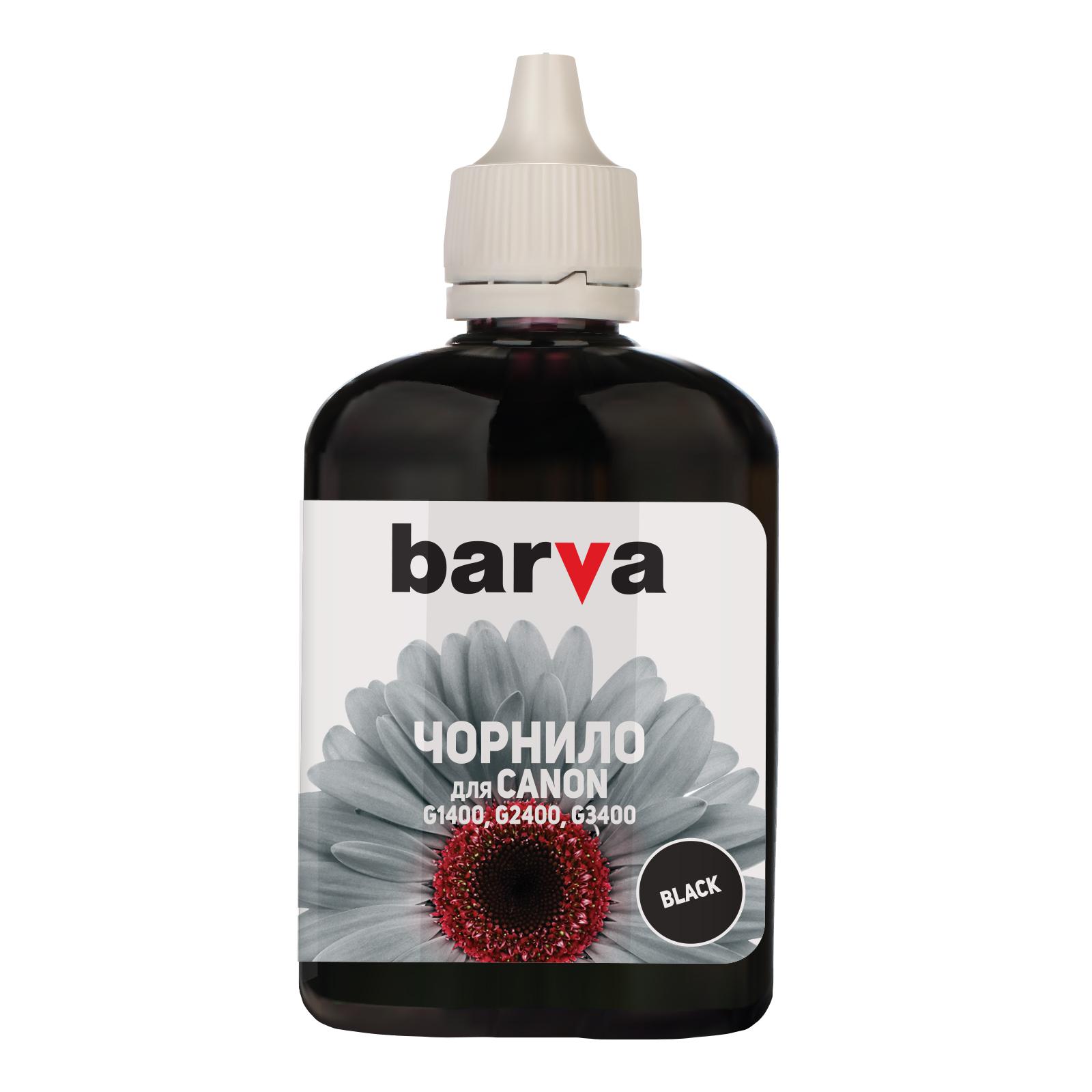 Чернила BARVA CANON GI-490 90г BLACK Pigmented (G490-507)
