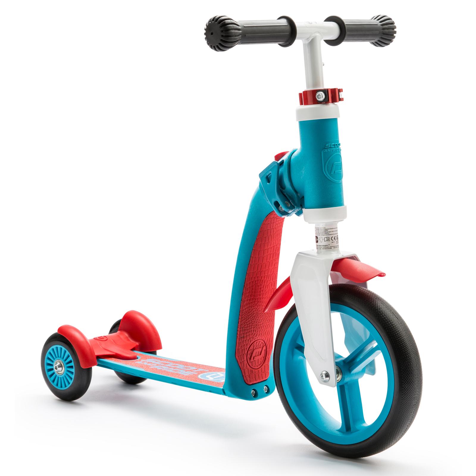Самокат Scoot&Ride Highwaybaby+ сине-красный (SR-216272-BLUE-RED) изображение 2
