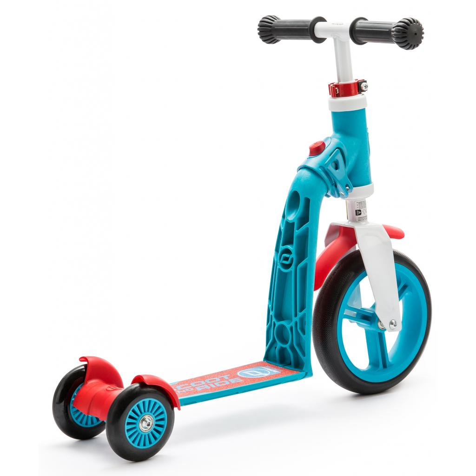 Самокат Scoot&Ride Highwaybaby+ сине-красный (SR-216272-BLUE-RED) изображение 3