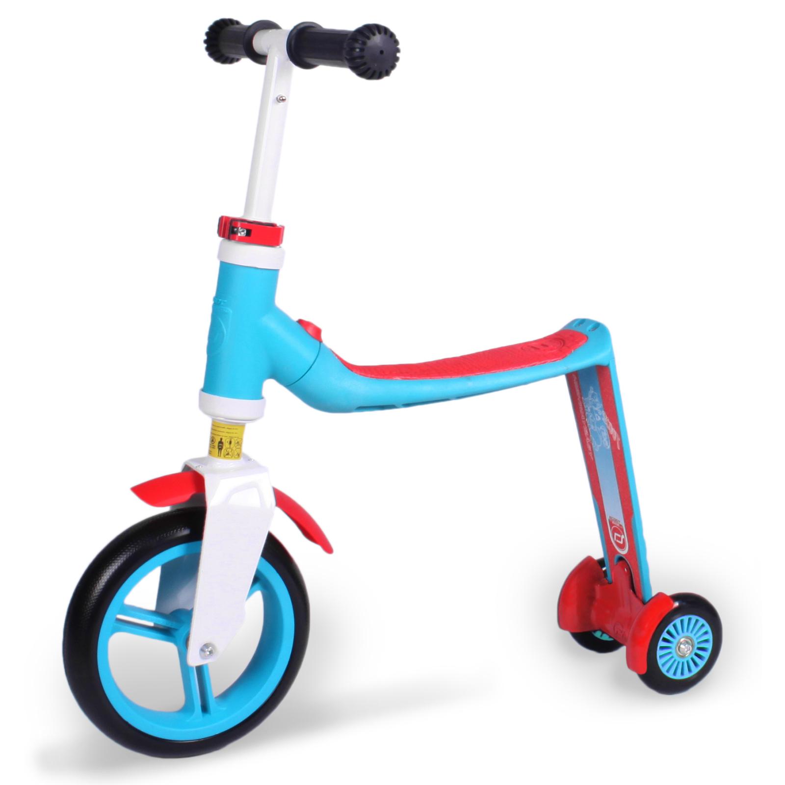 Самокат Scoot&Ride Highwaybaby+ сине-красный (SR-216272-BLUE-RED) изображение 4
