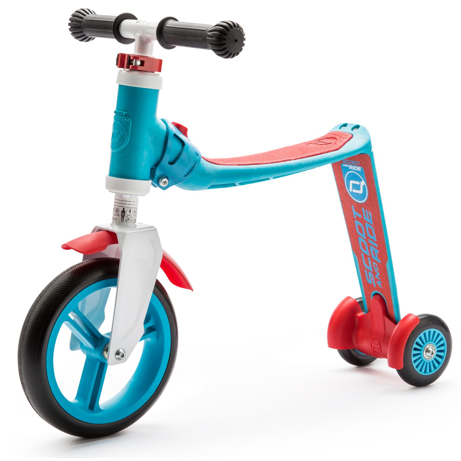 Самокат Scoot&Ride Highwaybaby+ сине-красный (SR-216272-BLUE-RED)