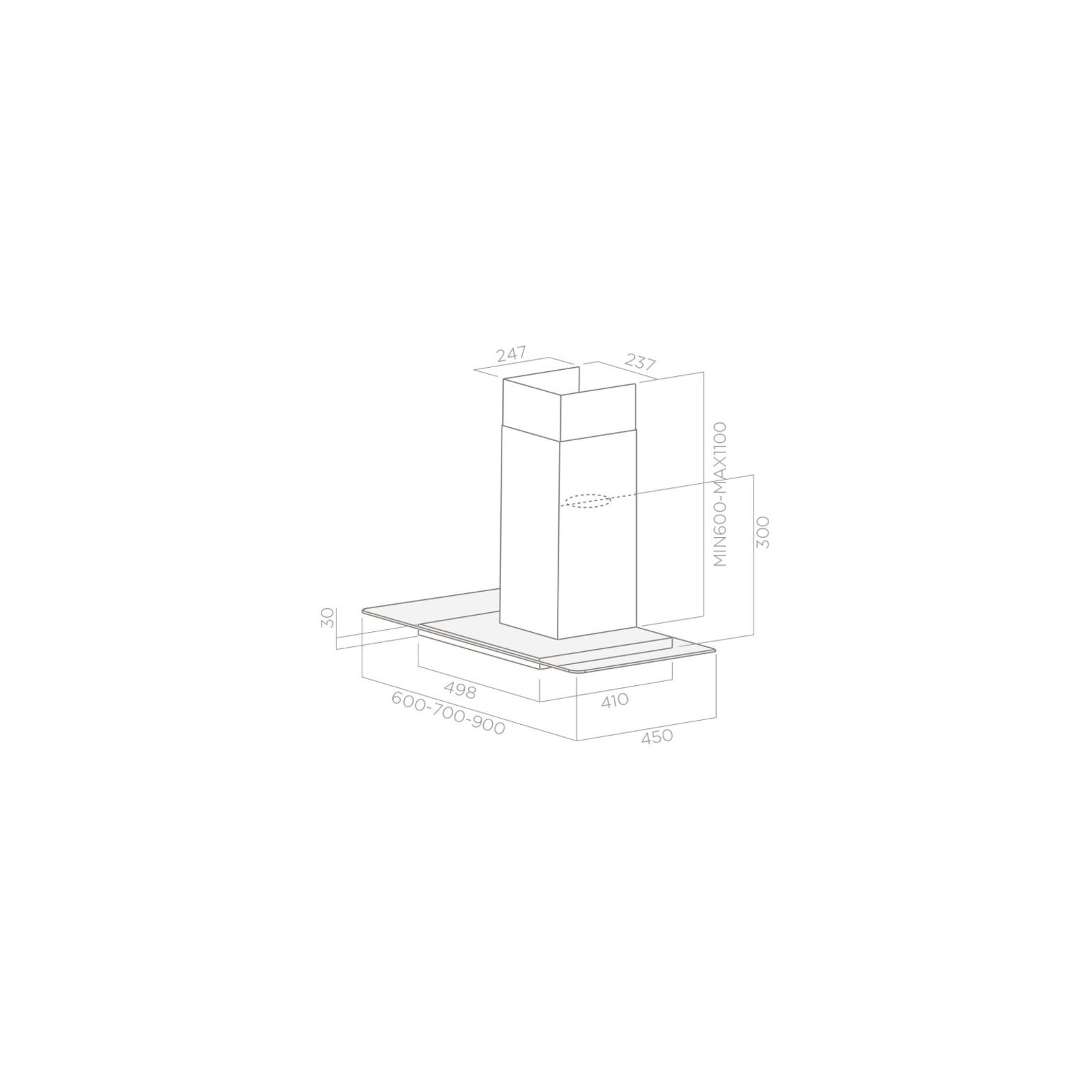 Вытяжка кухонная ELICA FLAT GLASS PLUS IX/A/90 изображение 2