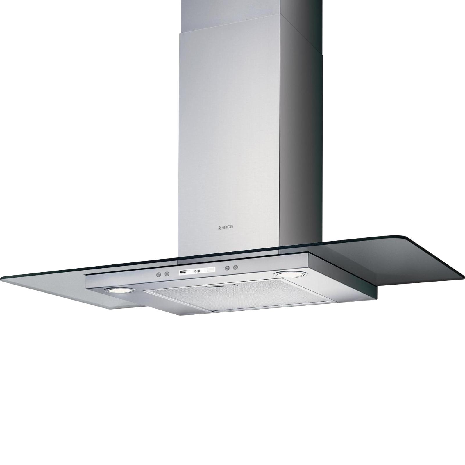 Вытяжка кухонная ELICA FLAT GLASS PLUS IX/A/90