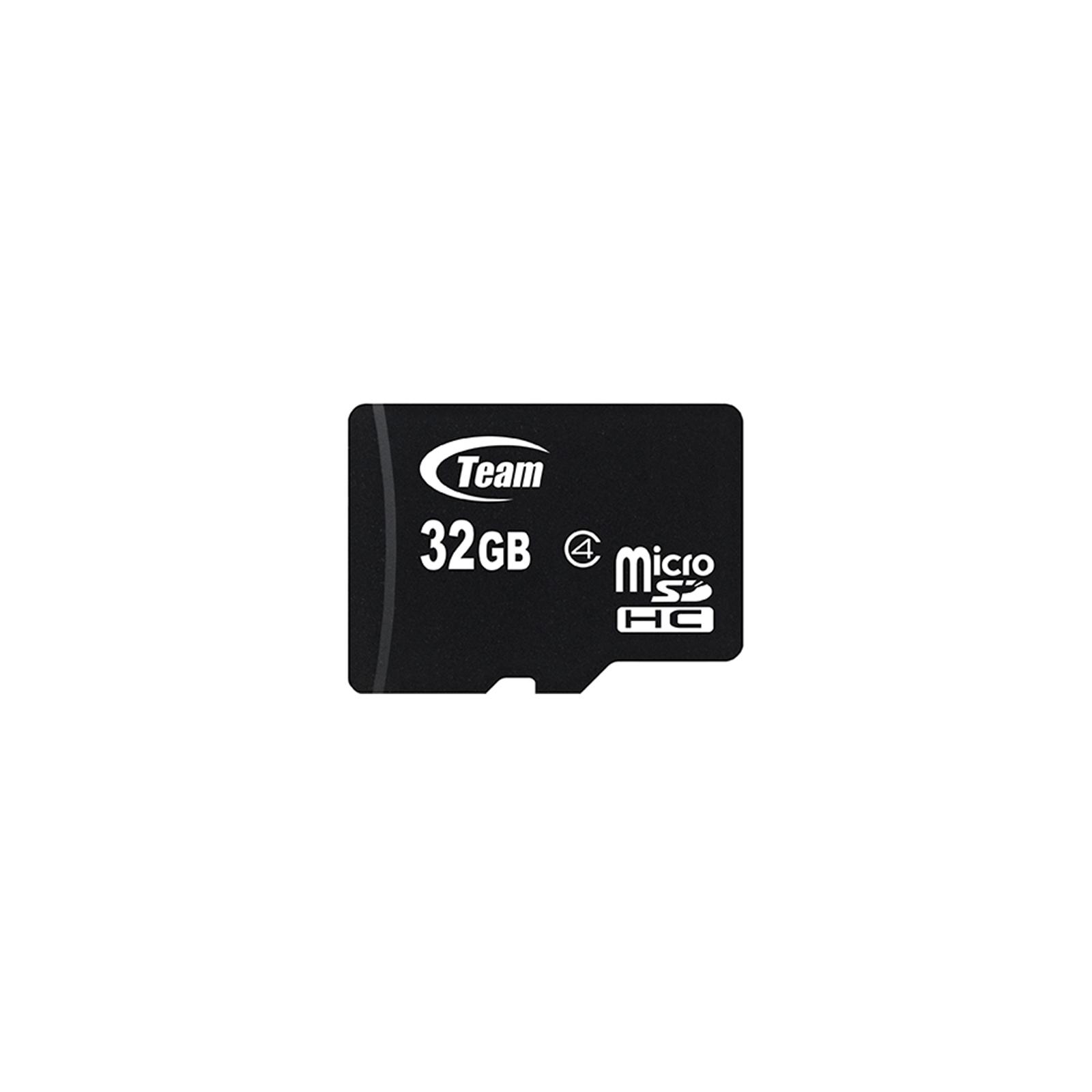 Карта памяти Team 32GB microSD Class 4 (TUSDH32GCL402)