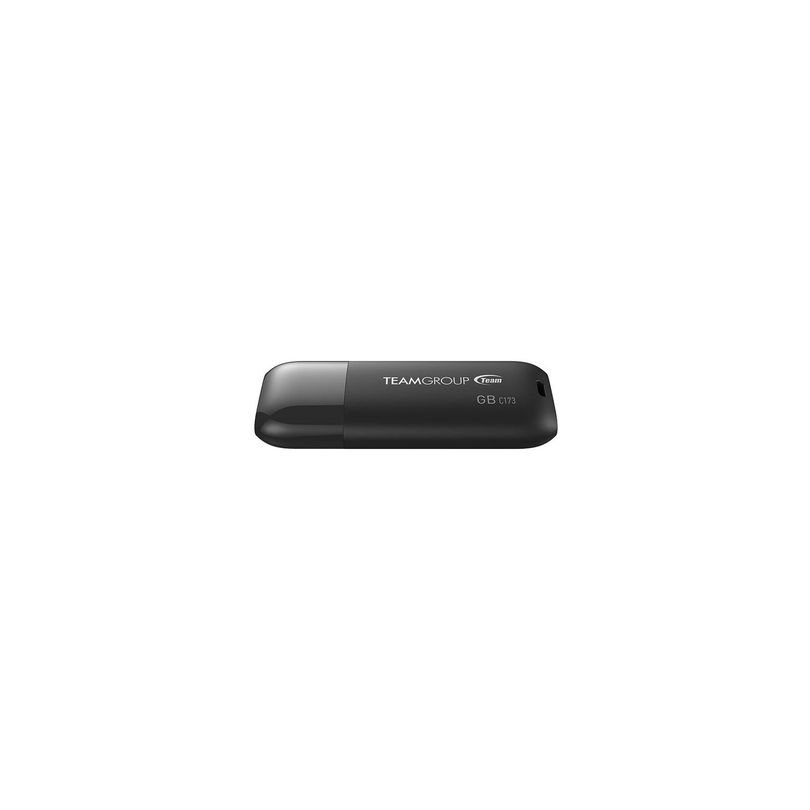 USB флеш накопитель Team 32GB C173 Pearl Black USB 2.0 (TC17332GB01) изображение 2
