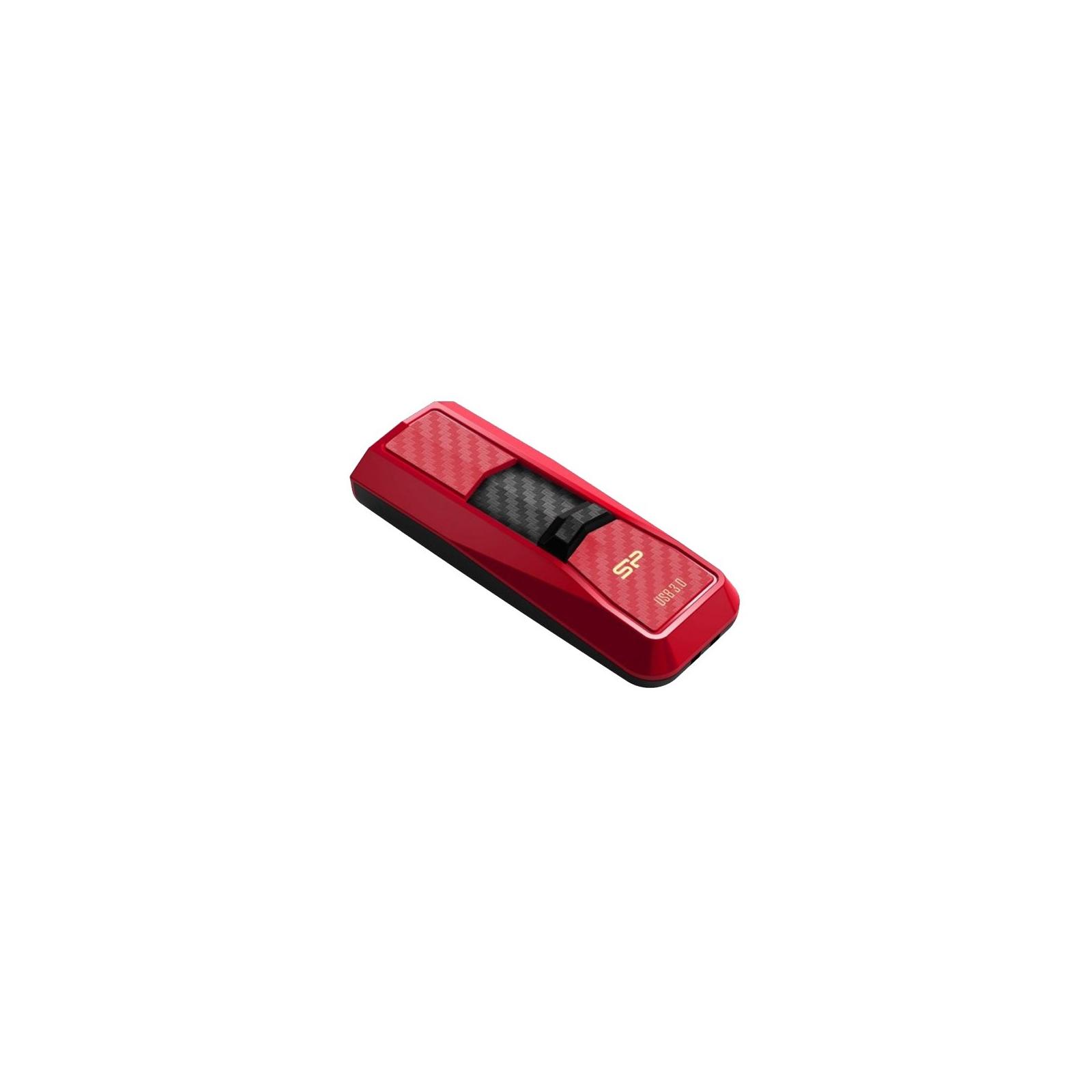 USB флеш накопитель Silicon Power 8GB B50 Black USB 3.0 (SP008GBUF3B50V1K) изображение 3