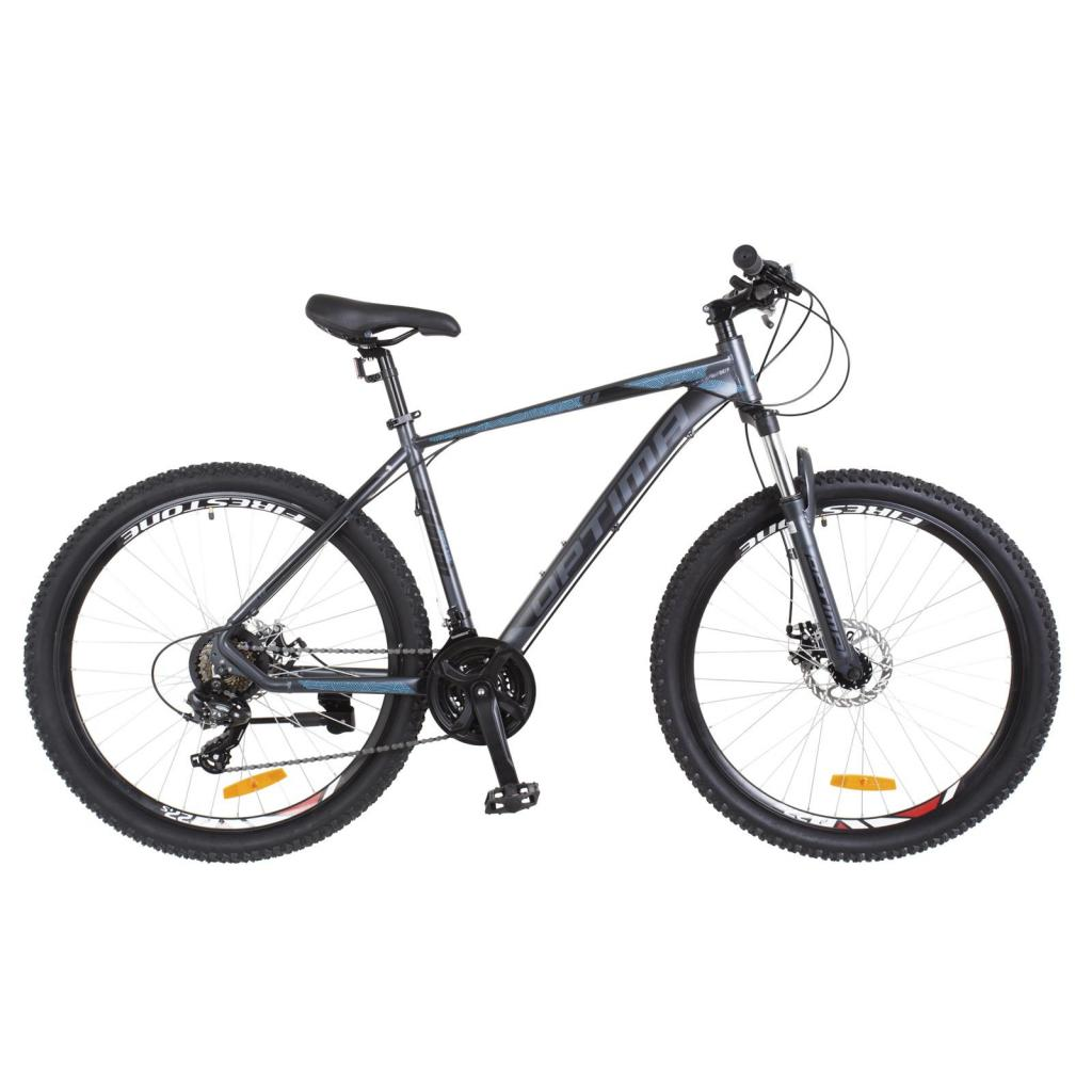 """Велосипед Optimabikes 26"""" F-1 2018 AM 14G DD рама-19"""" Al черно-синий (OPS-OP-26-123)"""