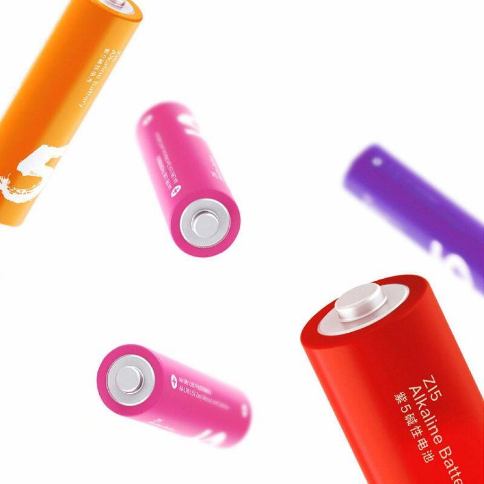 Батарейка ZMI ZI5 Rainbow AA batteries * 24 (Р30402) изображение 4