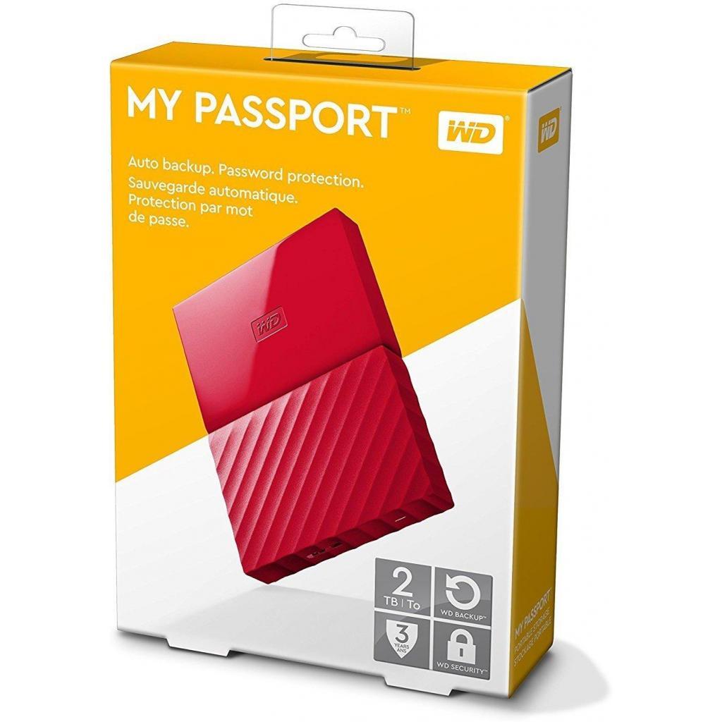 """Внешний жесткий диск 2.5"""" 2TB Western Digital (WDBS4B0020BRD-WESN) изображение 8"""