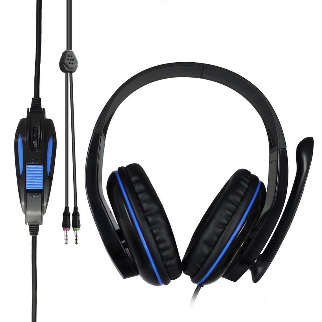Наушники SADES Tpower Black/Blue (SA701-B-BL) изображение 6