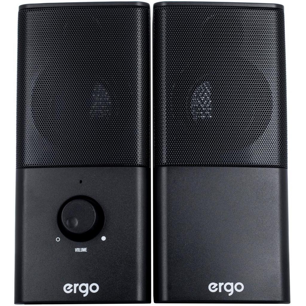 Акустическая система Ergo S-08 USB 2.0 BLACK (S-08) изображение 2