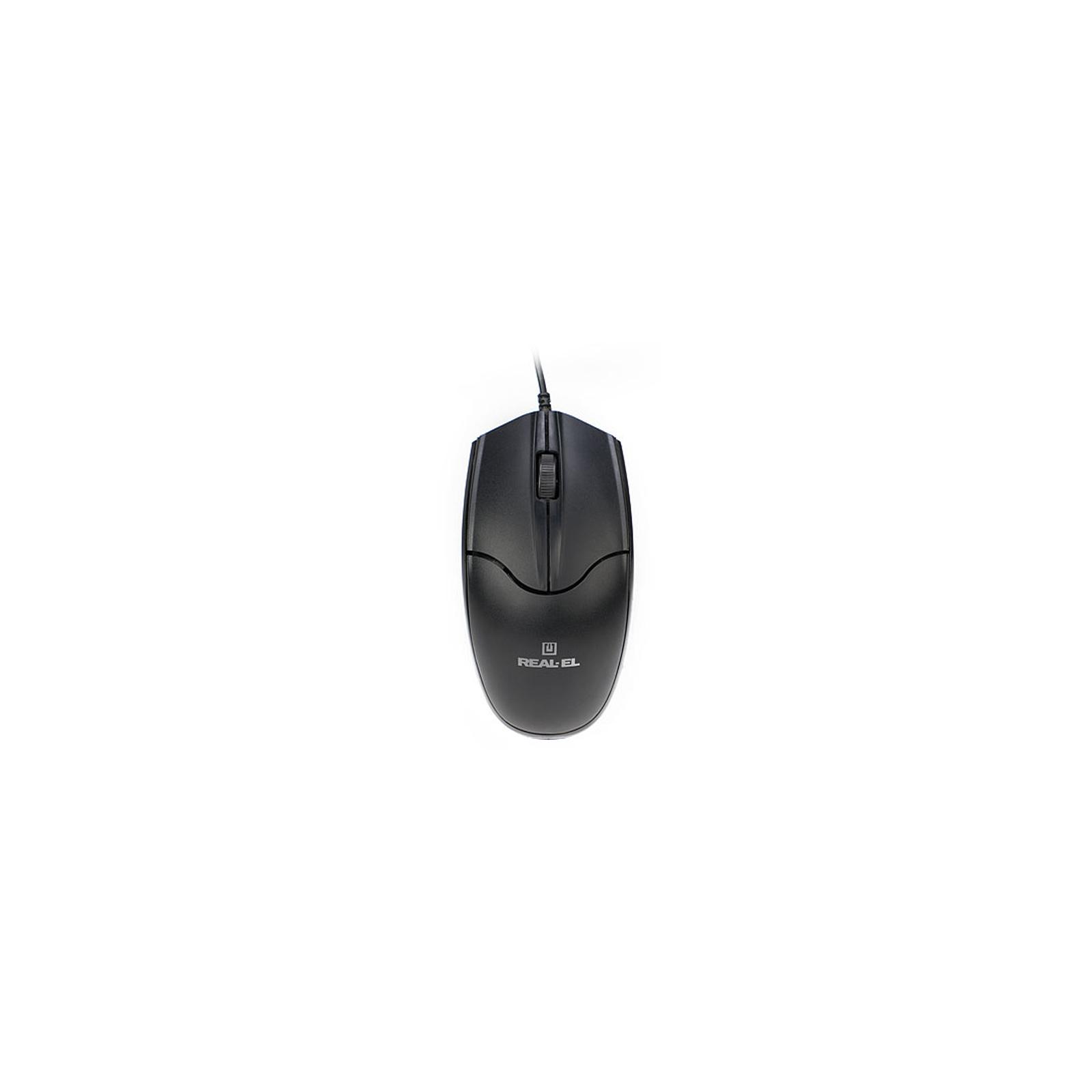 Мышка REAL-EL RM-410 Silent Black изображение 3