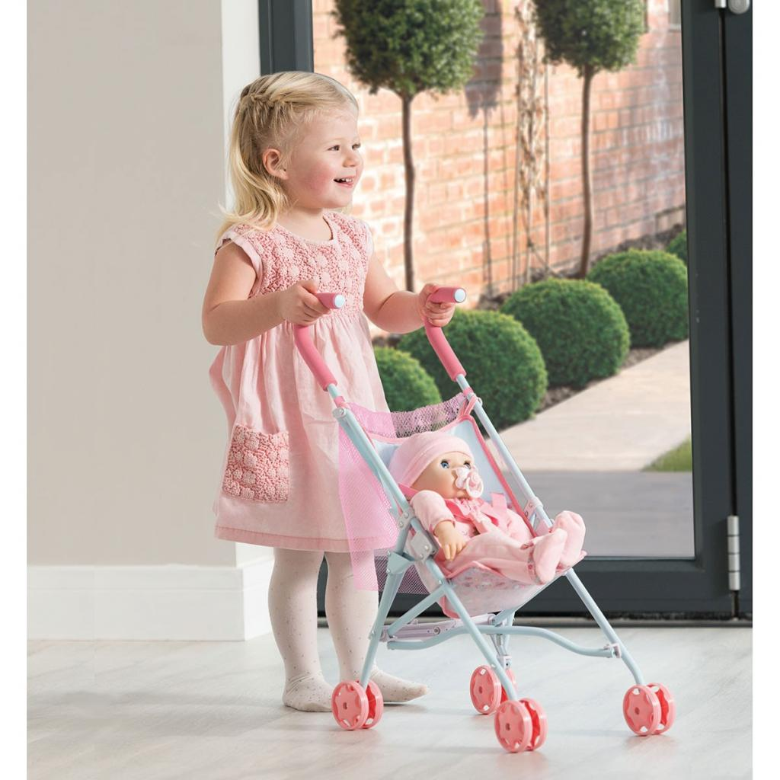 Коляска для кукол Zapf складная, с сумочкой Baby Annabell Чудесная прогулка (1423621.TY) изображение 4