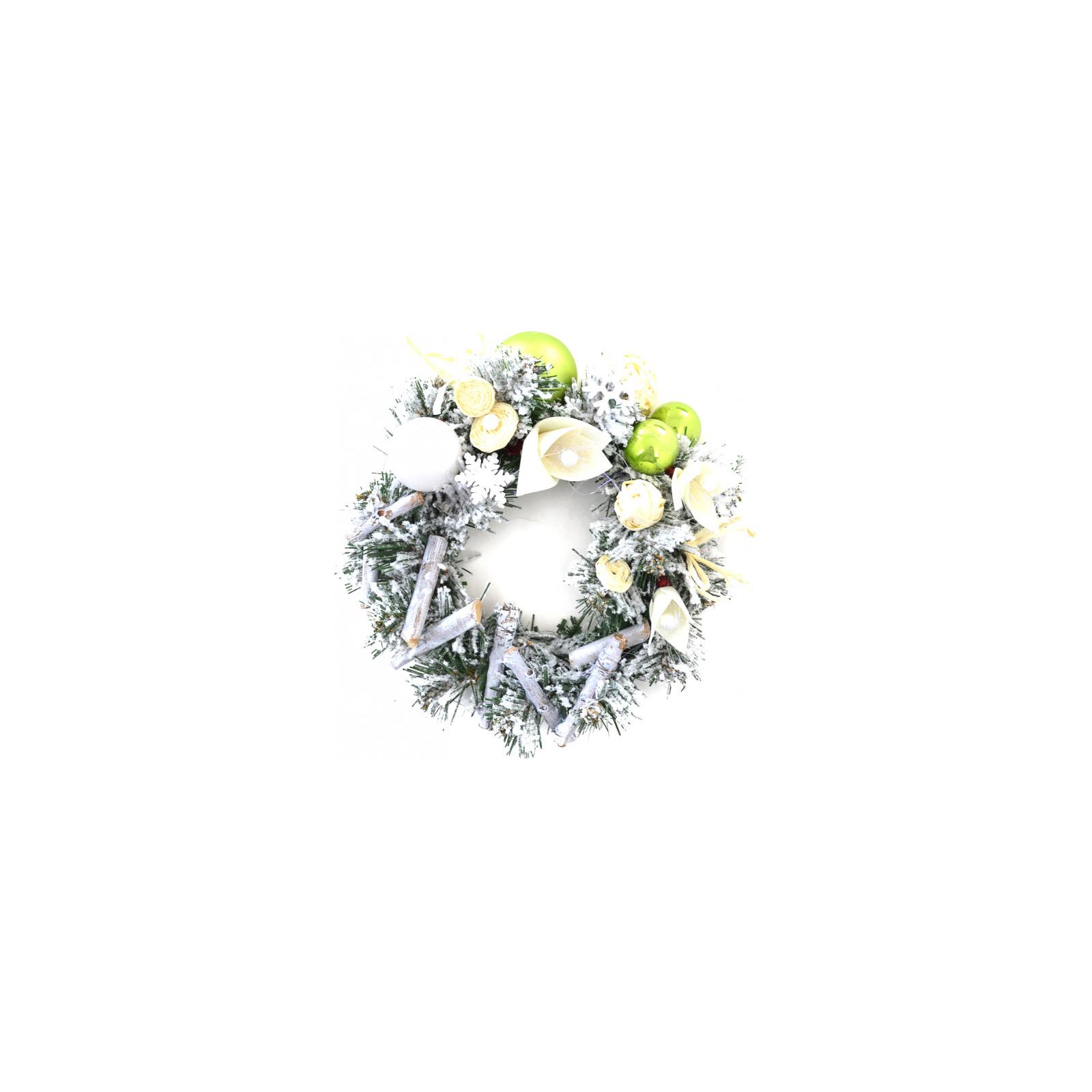 Украшение декоративное YES! Fun Рождественский венок Лесные причуды (904200) изображение 2