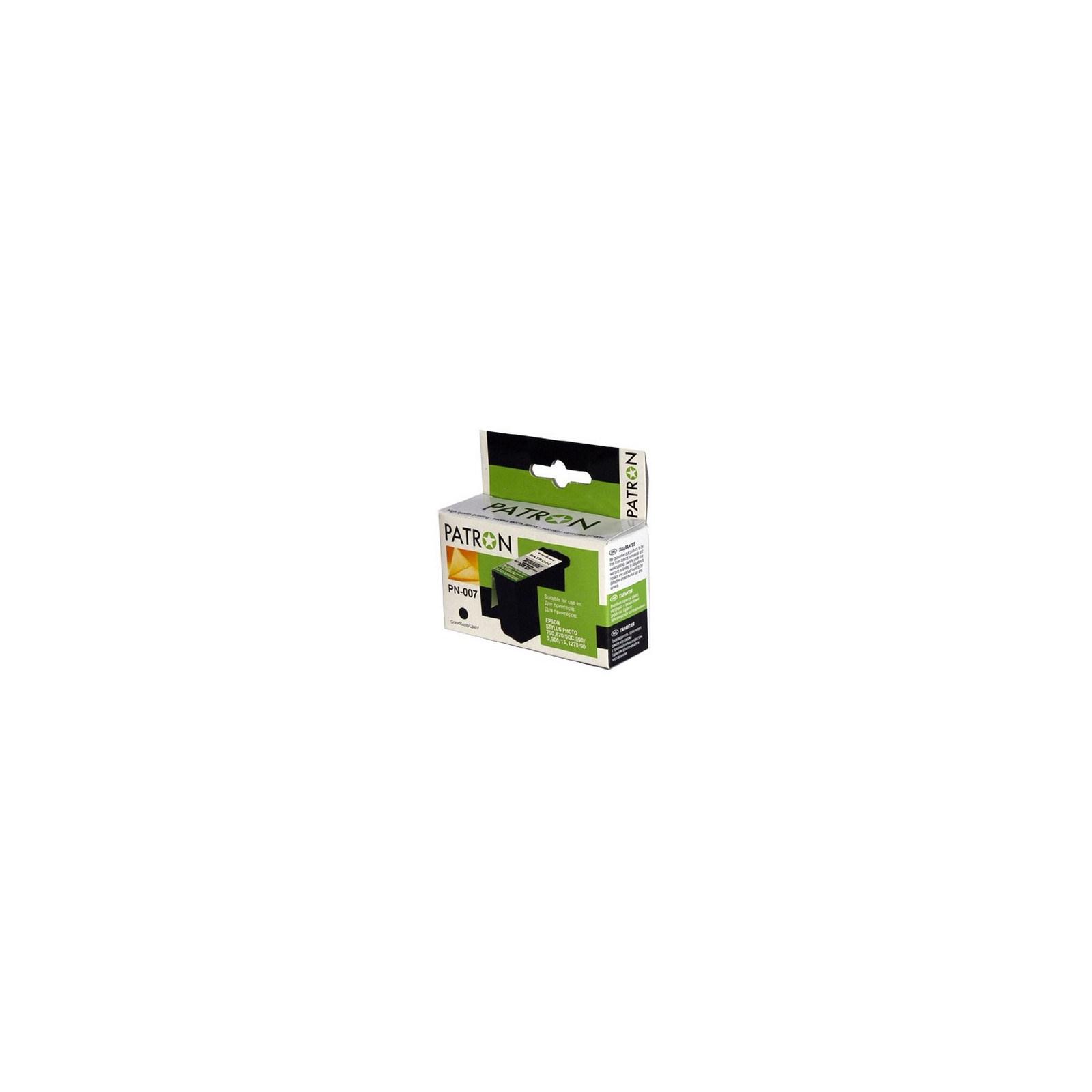 Картридж PATRON для EPSON StPhoto 870/ 1270 BLACK (CI-EPS-T007401-B-PN)