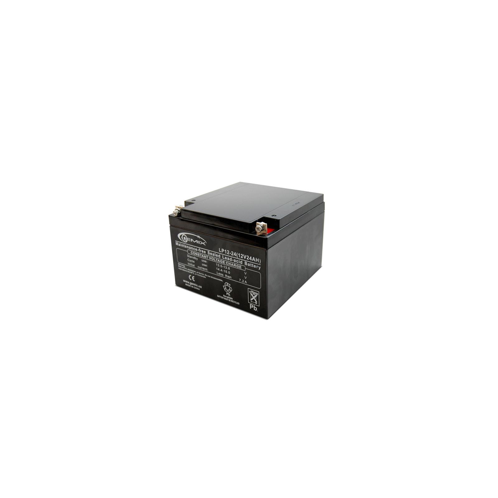 Батарея к ИБП 12В 24 Ач GEMIX (LP12-24)