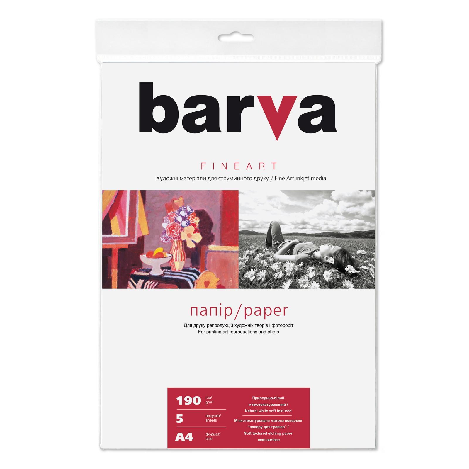 Бумага BARVA A4 FINE ART (IP-BAR-FA-ZB190-T01)