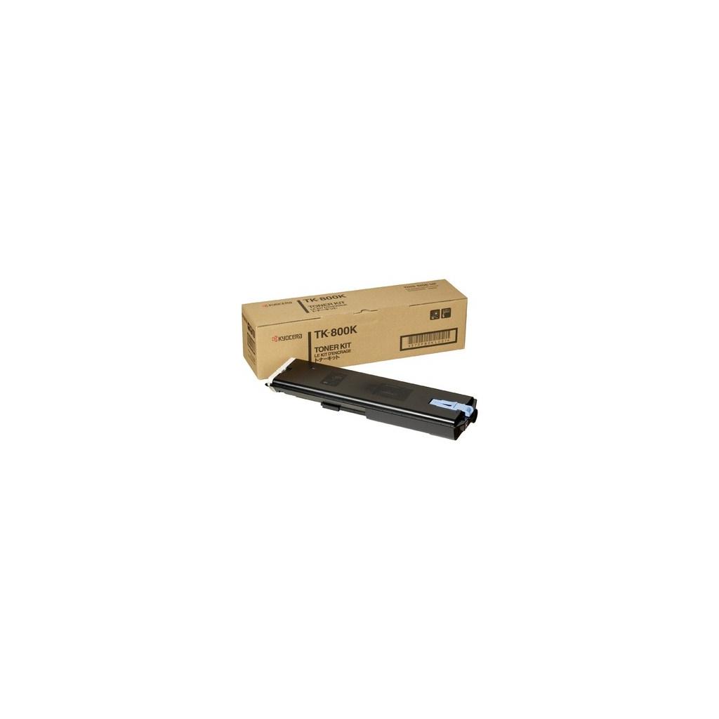 Тонер-картридж Kyocera TK-800K black (370PB0KL)