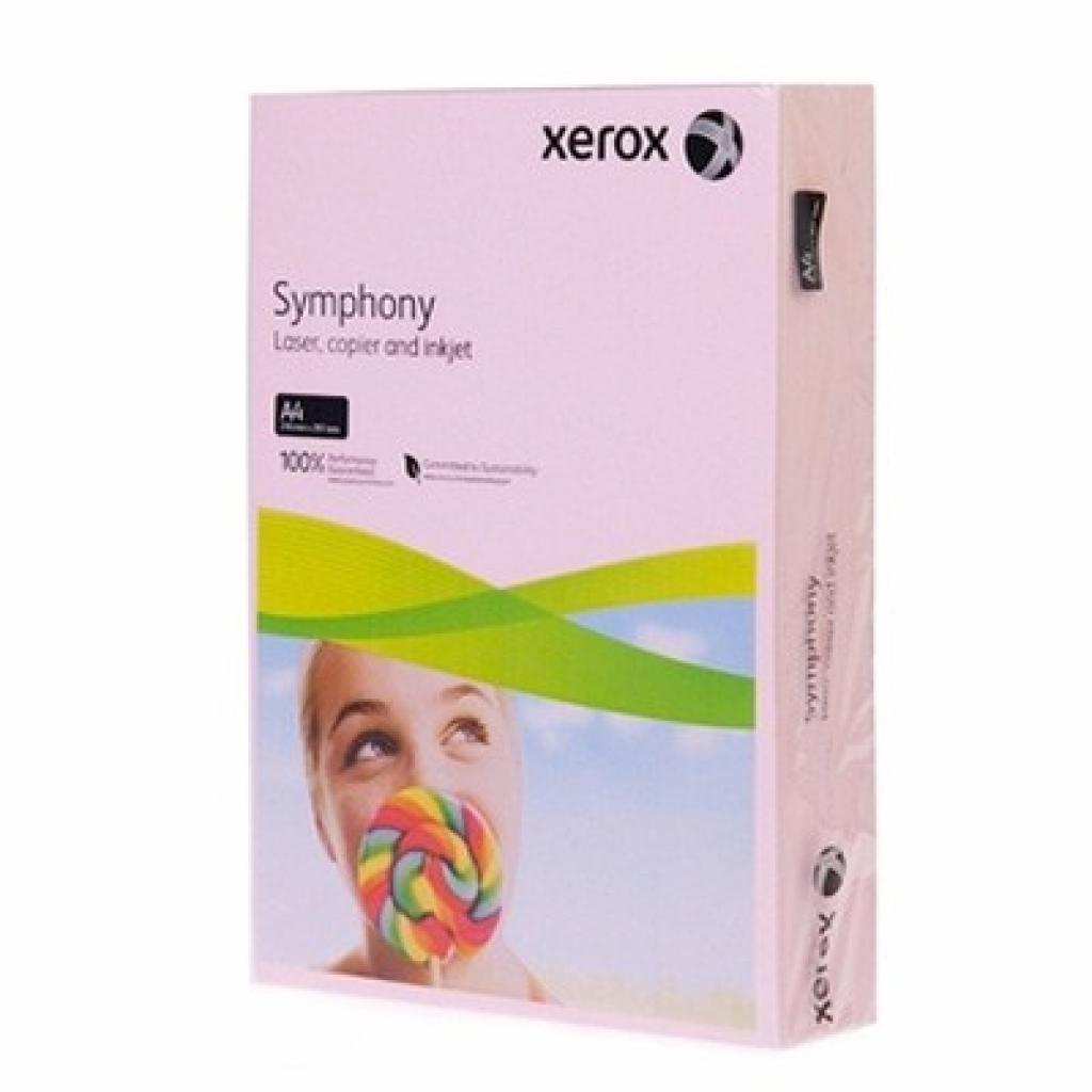 Бумага XEROX A4 SYMPHONY Pastel Pink (003R92306)