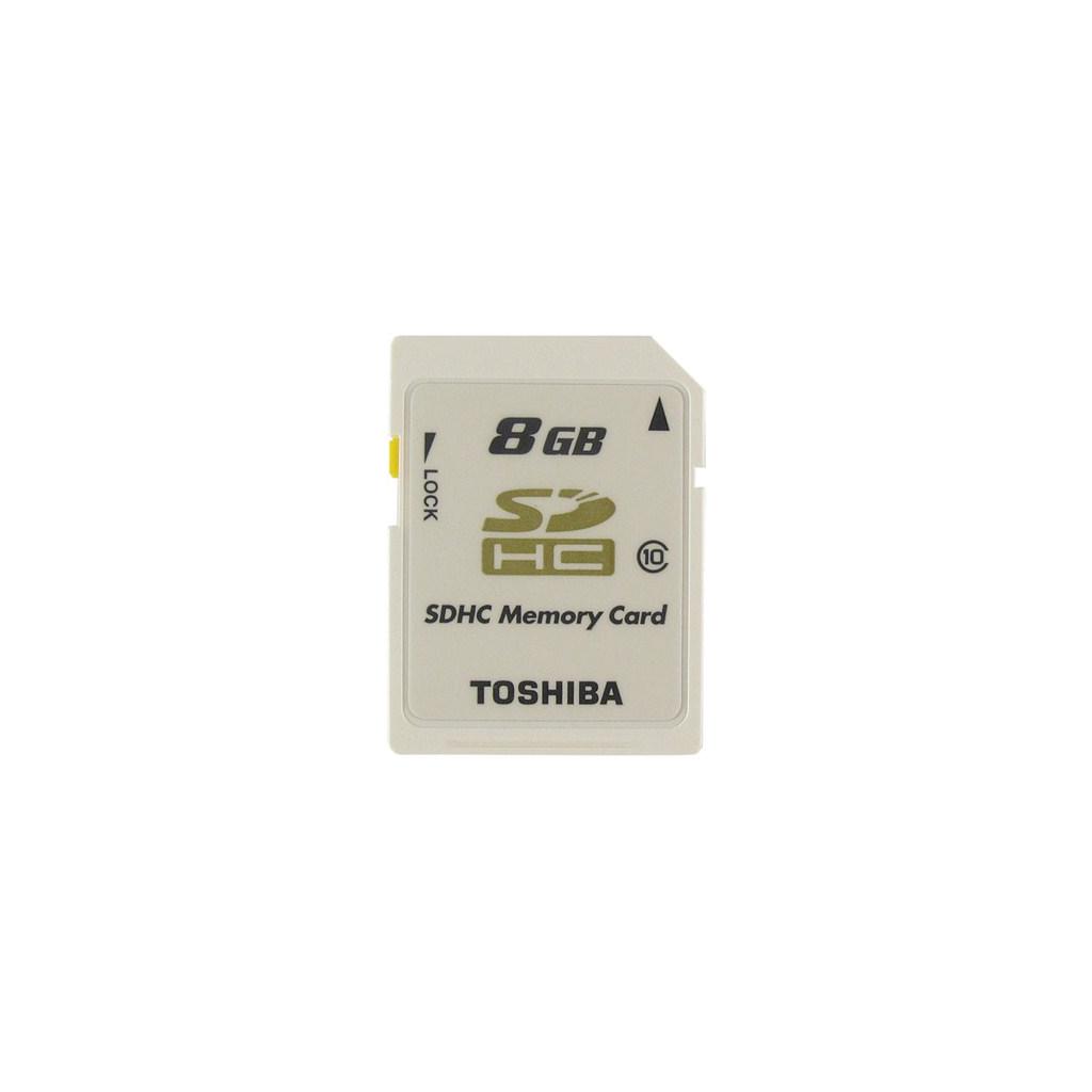 Карта памяти TOSHIBA 8Gb SDHC class 10 (SD-T08GJ(BL4)