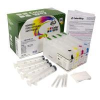 Комплект перезаправляемых картриджей ColorWay Epson WP-4015DN/4025/4095/4515/4525/4535/4545 (без чрн.) (WP4015RC-0.0)