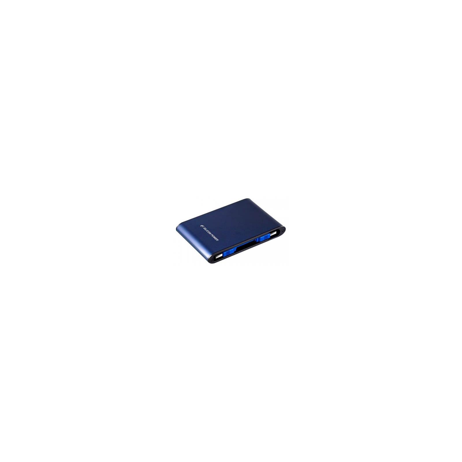 """Внешний жесткий диск 2.5"""" 1TB Silicon Power (SP010TBPHDA80S3B)"""