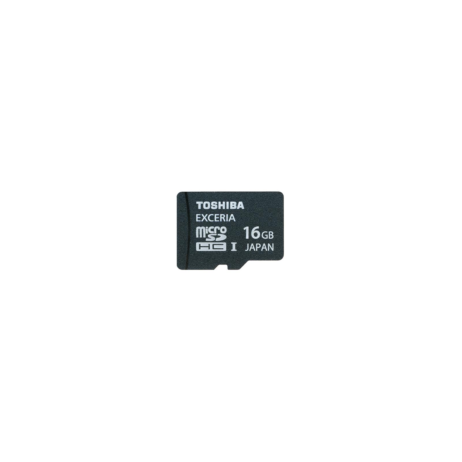 Карта памяти TOSHIBA 16Gb microSDHC UHS-I class 10 (SD-CX016HD(BL7 / SD-CX16HD(BL7)