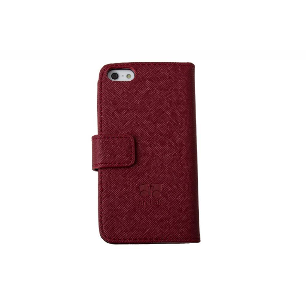 Чехол для моб. телефона Drobak для Apple Iphone 5 /Elegant Wallet Red (210238) изображение 3