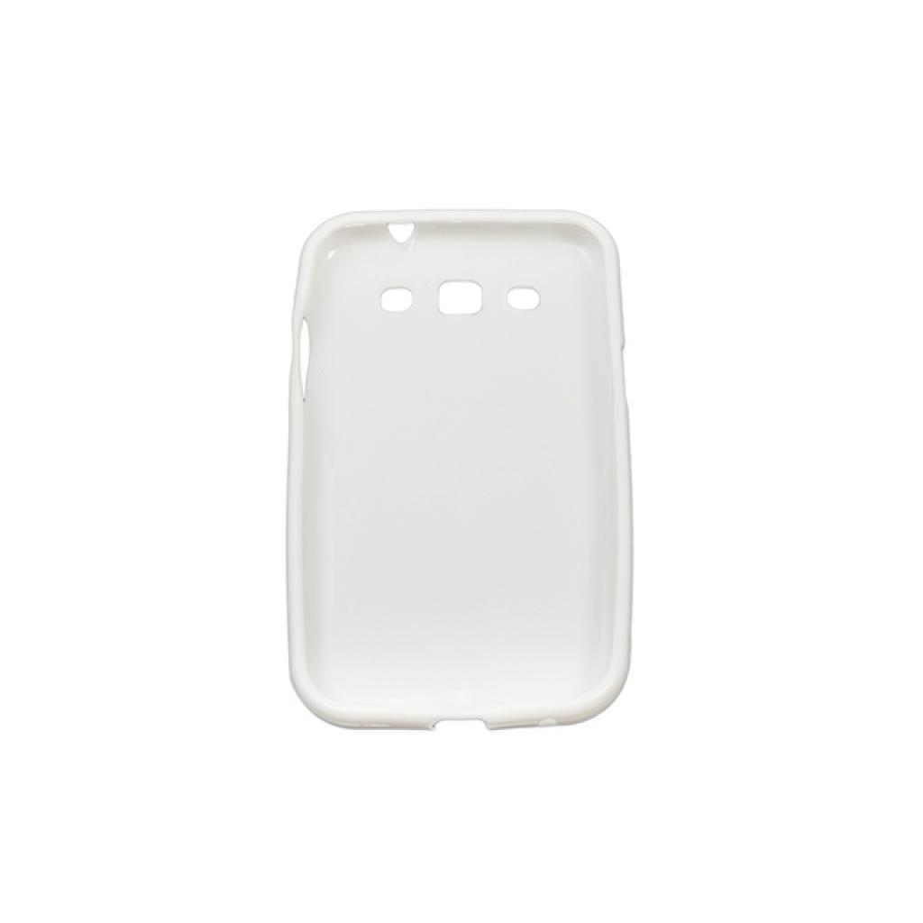 Чехол для моб. телефона Drobak для Samsung I8552 Galaxy Win /Elastic PU/White (215212) изображение 2