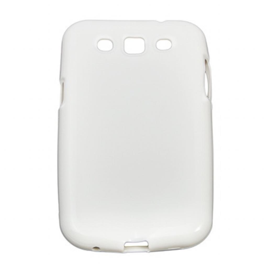 Чехол для моб. телефона Drobak для Samsung I8552 Galaxy Win /Elastic PU/White (215212)