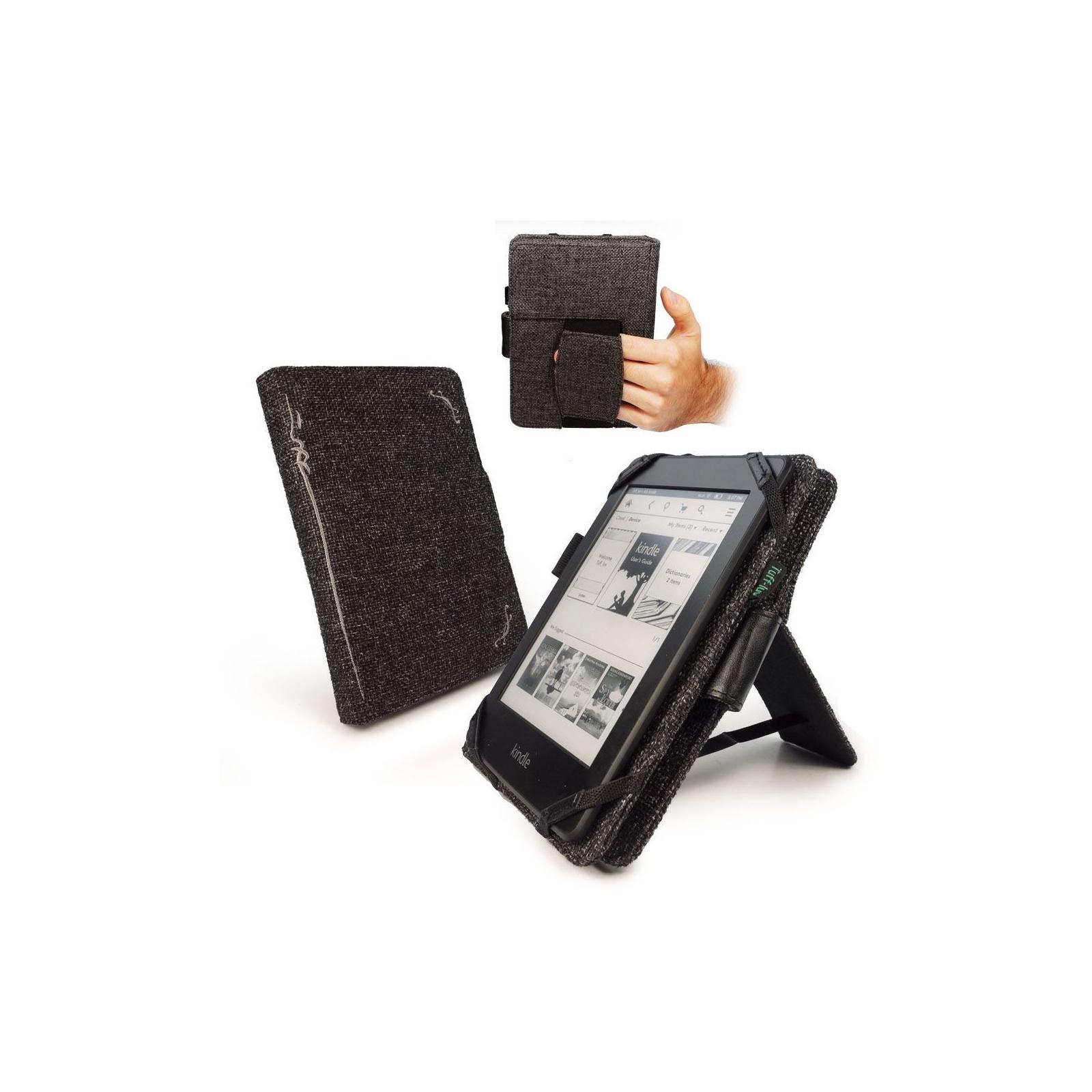 Чехол для электронной книги Tuff-Luv 6 Embrace Plus Hemp Charcoal Black (I3_16) изображение 4