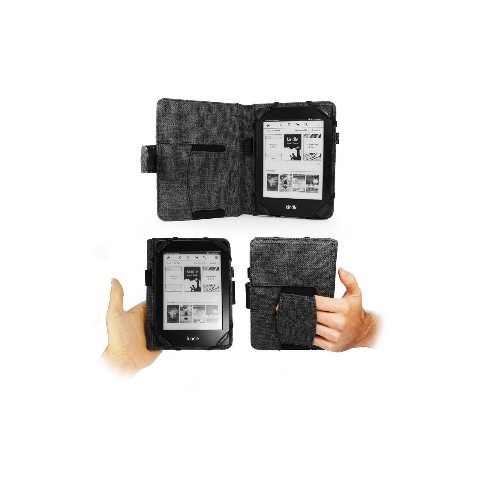 Чехол для электронной книги Tuff-Luv 6 Embrace Plus Hemp Charcoal Black (I3_16) изображение 5