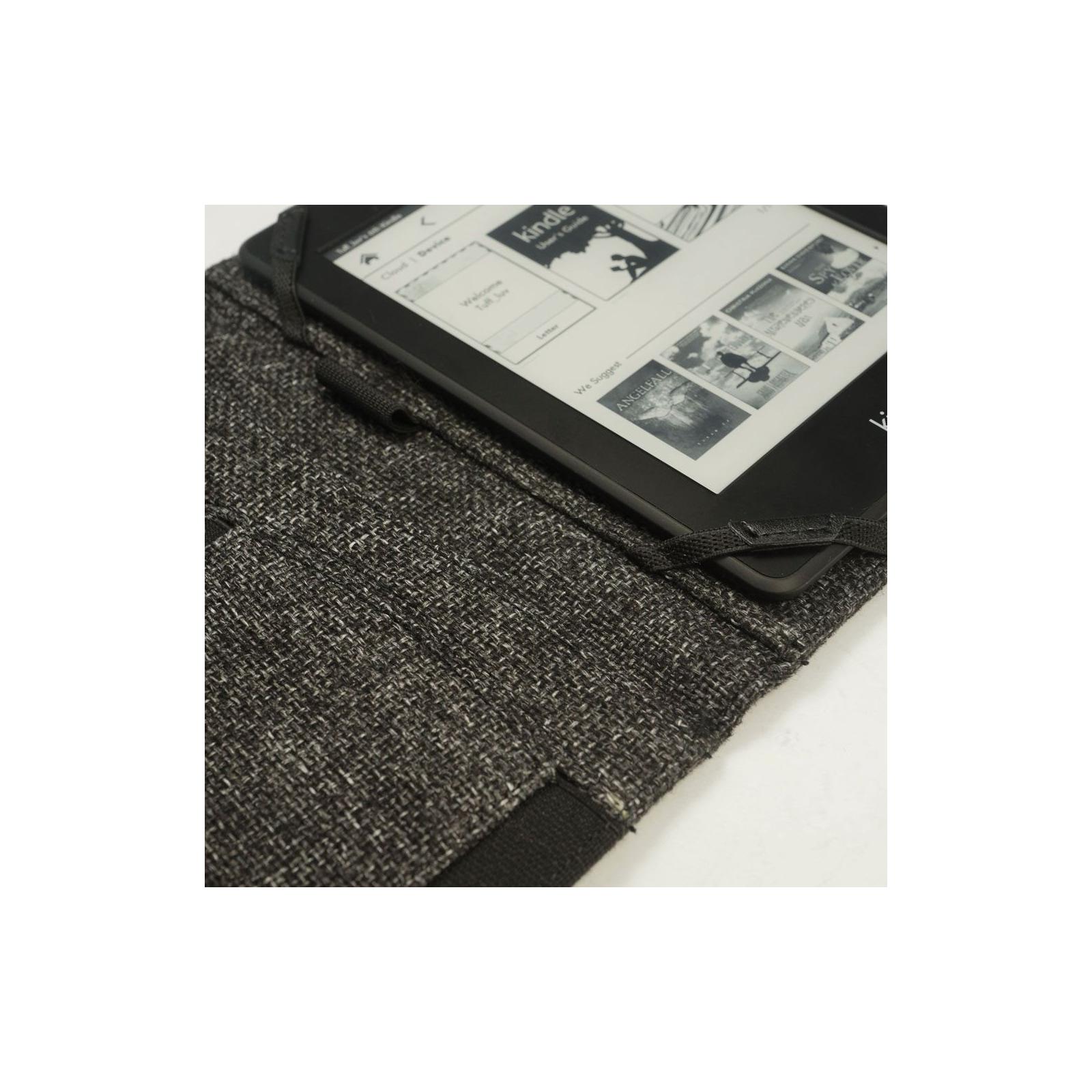 Чехол для электронной книги Tuff-Luv 6 Embrace Plus Hemp Charcoal Black (I3_16) изображение 6