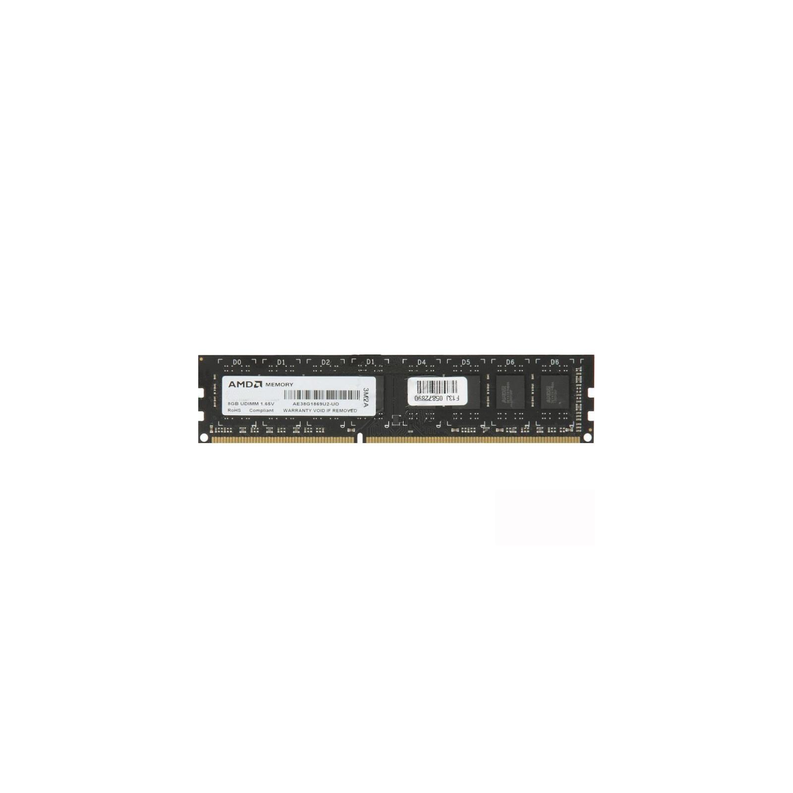Модуль памяти для компьютера DDR3 4GB 1333 MHz AMD (AE34G13391U1-UO)