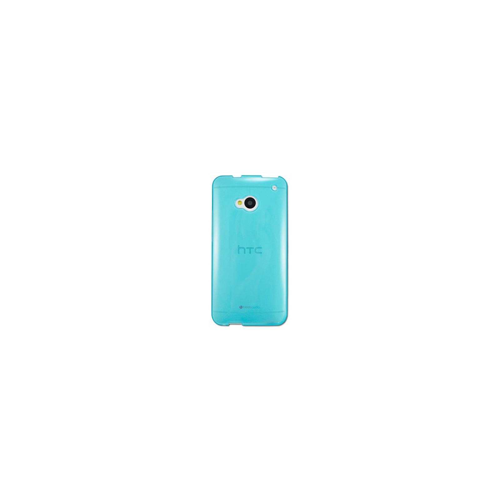 Чехол для моб. телефона Simply Design HTC ONE /TPU Blue (SD-9654)