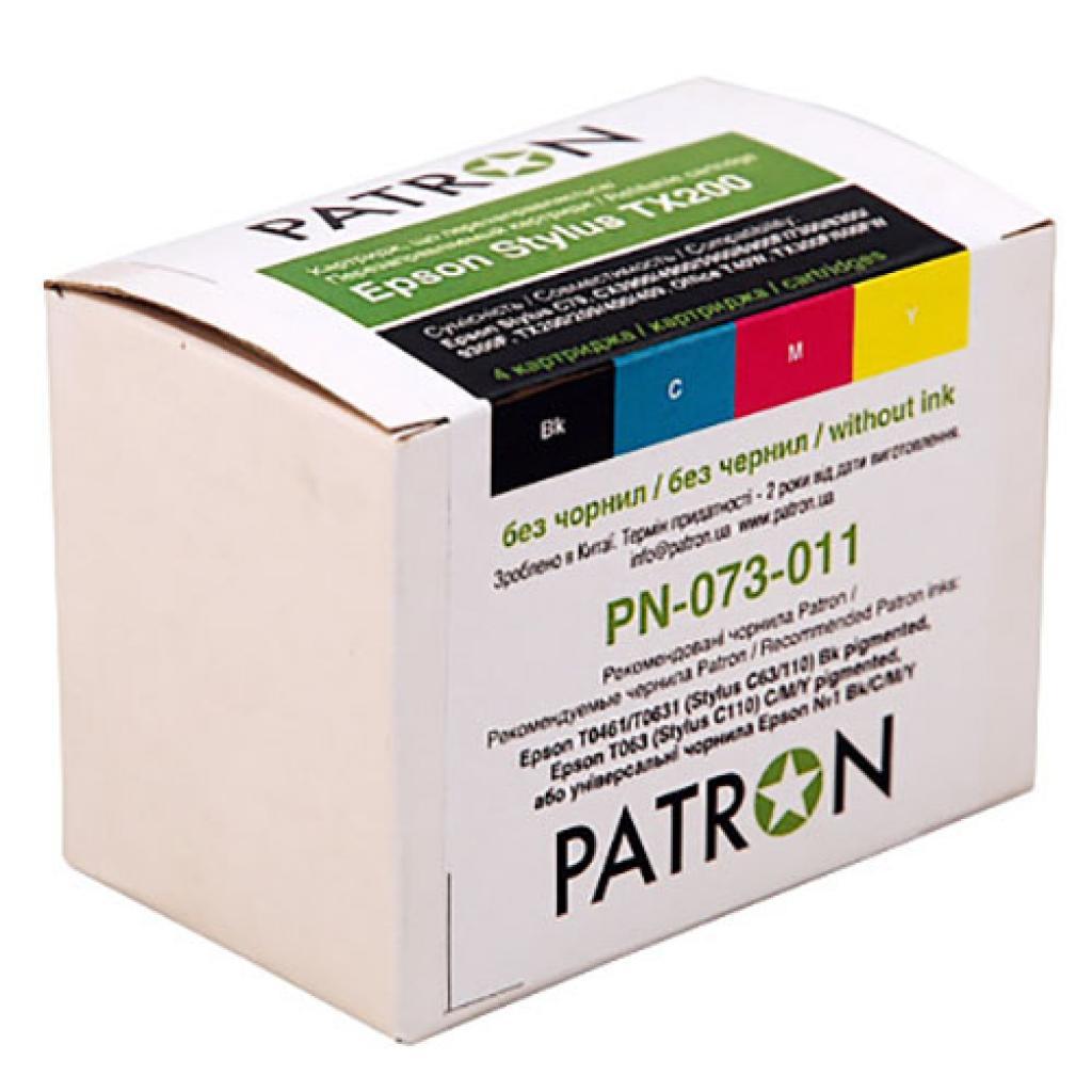 Комплект перезаправляемых картриджей PATRON Epson C79/TX200/TX209/TX400/TX409 (CIR-PN-ET073-011)