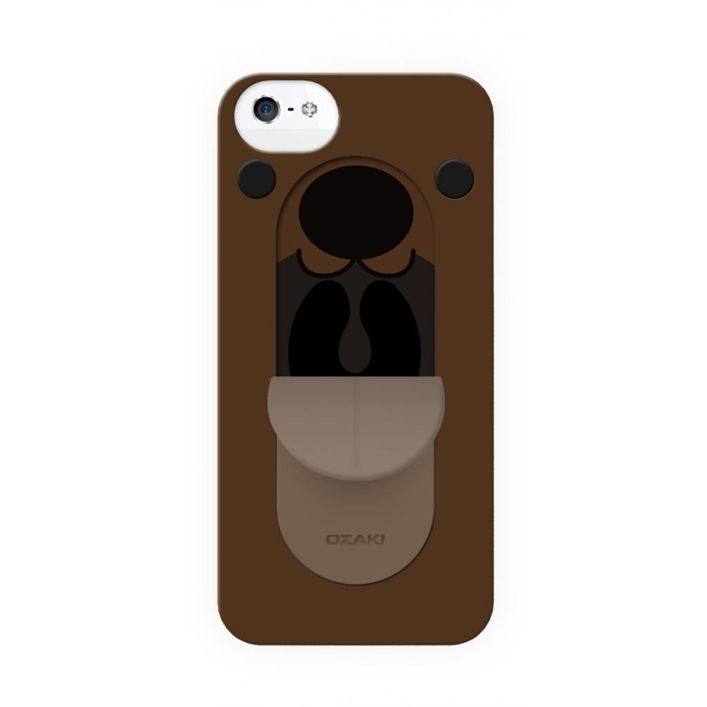 Чехол для моб. телефона OZAKI IPhone 5/5S O!coat FaaGaa Bear (OC554BE) изображение 2
