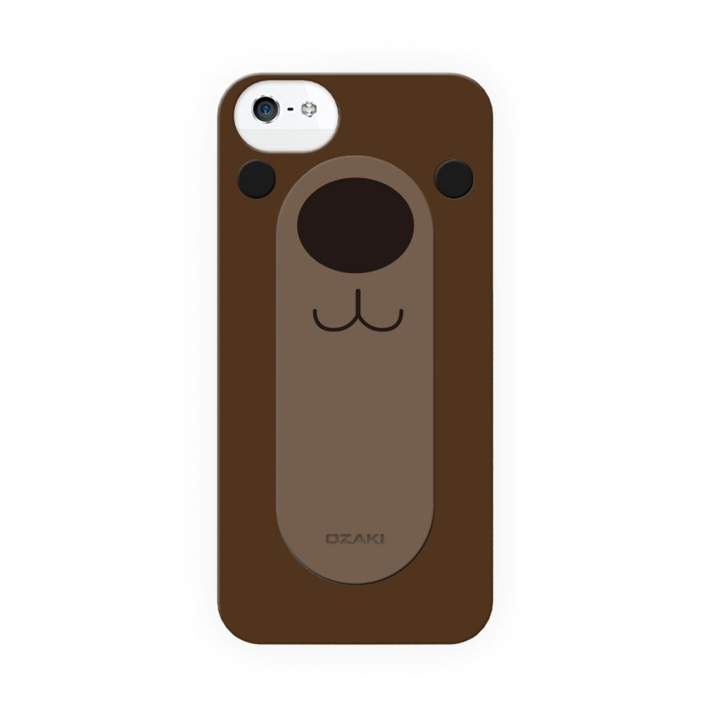Чехол для моб. телефона OZAKI IPhone 5/5S O!coat FaaGaa Bear (OC554BE)
