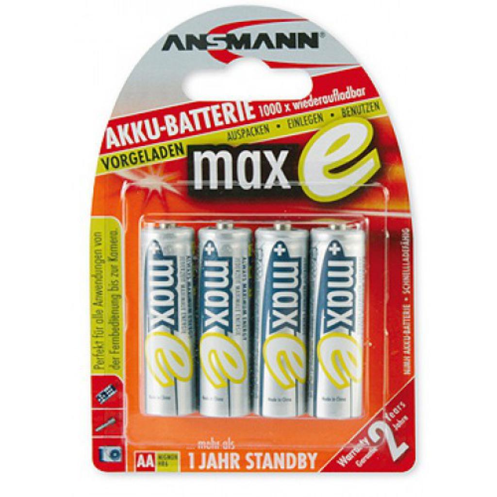 Аккумулятор Ansmann AA 2500mAh maxE * 4 (5035442)