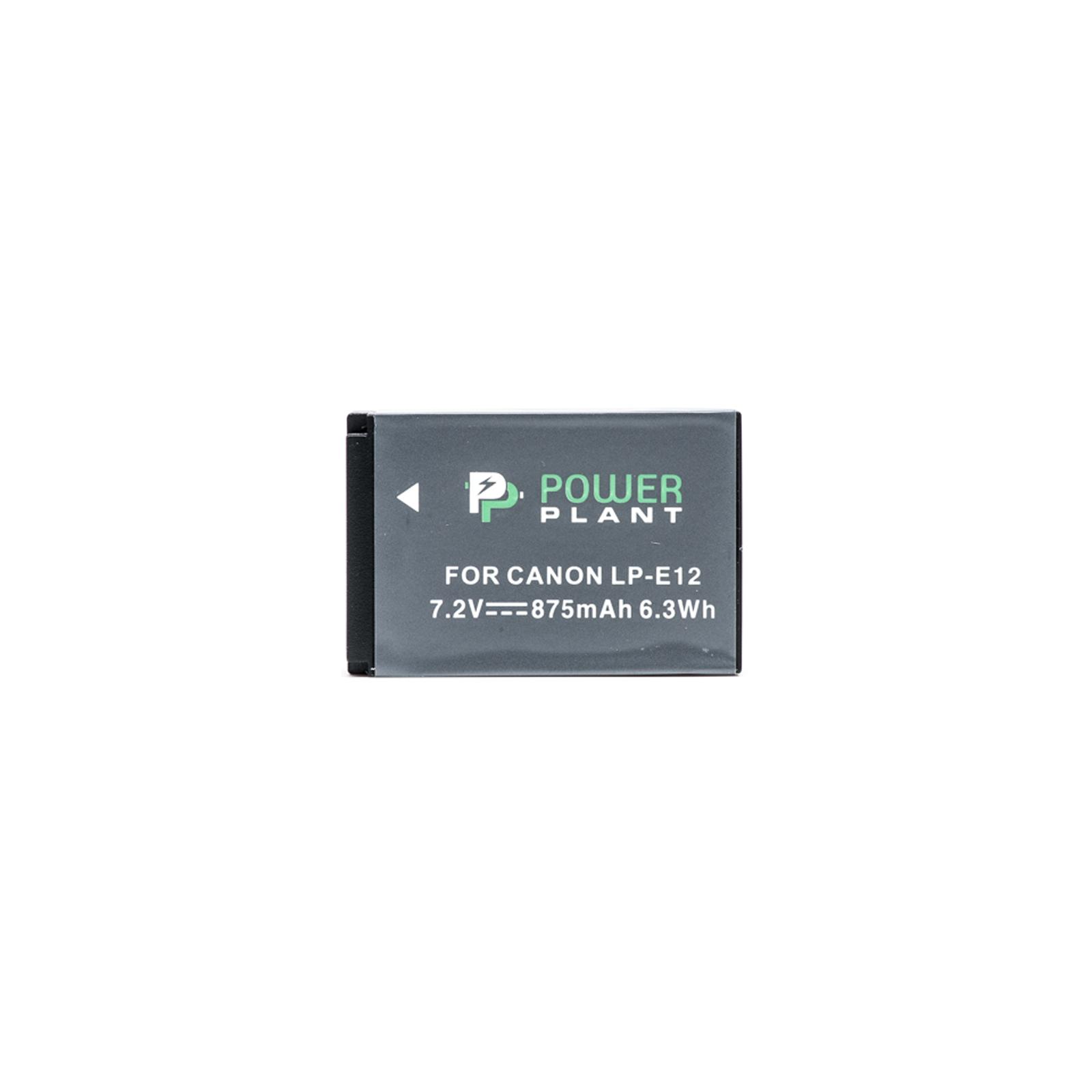 Аккумулятор к фото/видео PowerPlant Canon LP-E12 (DV00DV1311) изображение 2